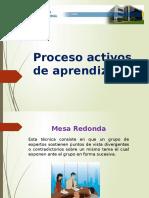 procesos activos deapredizaje