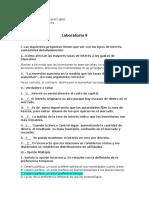 Laboratorio 9 Proceso Economico I