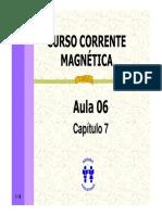 Curso Corrente Magnetica - Aula 06 - Cap 07 (6p)