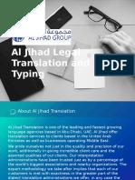 Translation Services Abu Dhabi