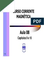 Curso Corrente Magnetica - Aula 08 - Cap 09 e 10 (9p).pdf