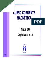 Curso Corrente Magnetica - Aula 09 - Cap 11 e 12 (8p).pdf