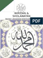 Wirid dan Sholawat - Zainal Abidin 27 April 2016