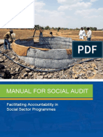 Social Audit Training Manual