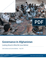 Governance in Afghanistan