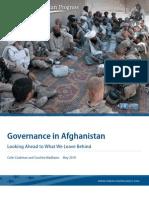 Governance in Afghanistan