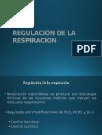 Regulacion de La Respiracion