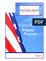 CarryOn Baggage Program 03-01-2008
