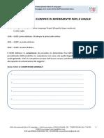 Lezione QCER.1 - Schema Appunti (MF)
