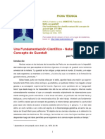 Una Fundamentación Científico-Natural Del Concepto de Gestalt (Huneeus, Francisco)