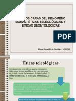 Clase Teleología y Deontología