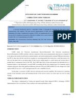 1. Ijecierd - Implementation of Uart With Single Error