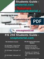FIS 250 Slingshot Academy/snaptutorial