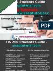 FIS 260 Slingshot Academy/snaptutorial