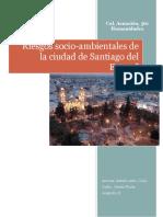 Riesgos Socio-Ambientales de Santiago Del Estero.