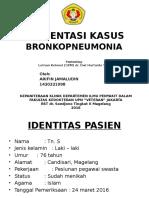 Ppt Presus Bronkopneumonia