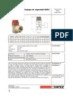 Herz-26xx-Supapa de Siguranta DN15