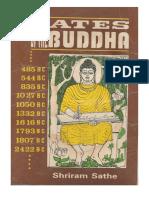 Dates of the Buddha