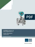 Siemens Sitrans FX300 Vortex