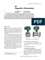 Yokogawa ADMAG AXR Two-wire Magnetic Flowmeter