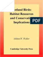 Milton W. Weller-Wetland Birds_ Habitat Resources and Conservation Implications -Cambridge University Press (1999)