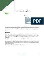 Print Stream Encryption
