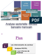 Analyse du secteur bancaire marocain dossier d entreprise