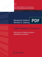 Stefanovic, Safonov - Safe Adaptive Control, Data-Driven Stability Analysis And