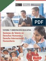 Sesiones de Tutoría en Derechos Humanos y Derecho Internacional Humanitario.