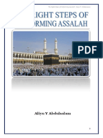 The Right Steps of Performing Assalah