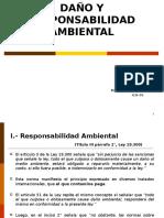 Daño y Responsabilidad Ambiental