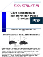Part 07. GAYA TERDISTRIBUSI, TITIK BERAT DAN PUSAT GRAVITASI.pptx