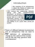 Entrepreneurial Behavior (Homestay)