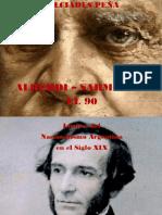 Alberdi Sarmiento, El 90