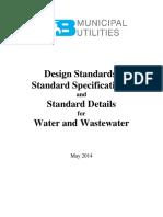 Design Standards Design Specifications and Standard Details