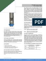 FVA TUBUX M30 Rotameter Flow Meter Ic