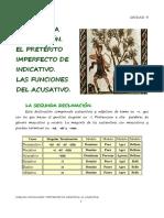 Unidad3 La 2º Declinación_pret.impf.