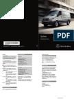 2015 Mercedes Benz Sprinter Operators Manual