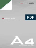 Audi A4 Libretto AllService 2016
