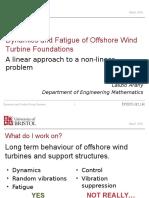 Offshore wind turbine foundation design issues