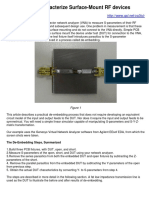 How to Characterize Surface-Mount RF Devices