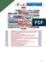 Revue de presse 8-10 mai 2010