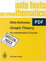 Bela Bollobas Graph Theory an Introductory Course