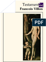 Testamentos - François Villon