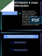 Sensopercepção e Suas Alterações (1)