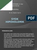 Presentation Syok Hipovolemik