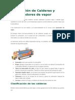 Calderas y Generadores de Vapor