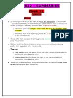 FINS1612 Summaries - Week 11 - Options.docx