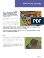 Building Split-level Corner Stairs