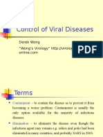 Control of Viral Diseases